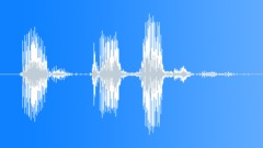 Military Radio Message: In Position. Male Voice Signal, V3 Sound Effect