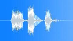 Stock Sound Effects of Radio Code / International Alphabet: November - Military, Male, V2