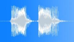 Police / FBI Radio Message: Man Down! Voice Signal, Male, Dispatch Call, V1 Sound Effect