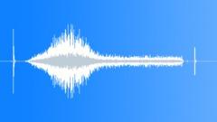 Turn on radio, walkie-talkie, static, then switch off - sound effect