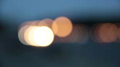 Night motorway Stock Footage