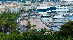 Cannes - stock footage