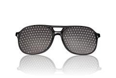 eyeglasses for vision training - stock photo