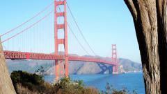 Golden Gate Bridge, San Francisco, USA Stock Footage