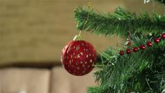 Holiday Decoration Stock Footage