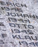 Näkymä sodan muistomerkki hautakivi Kuvituskuvat