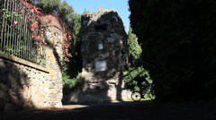 The Appian Way, Rome 1 Stock Footage