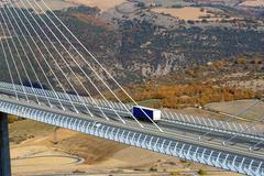 Stock Photo of motorway viaduct