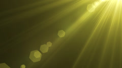 Optical Lens Flare effects flash light - stock footage
