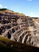 Homestake mine lead south dakota Stock Photos