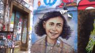 Stock Video Footage of anne frank museum berlin