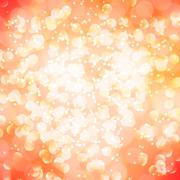 abstract magic bokeh background - stock illustration