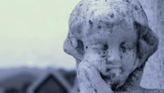 Angel Dolly shot Stock Footage