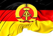 Stock Illustration of flag of german democratic republic