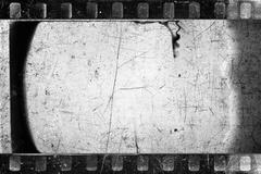 old filmstrip - stock photo