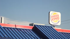 Burger King Stock Footage