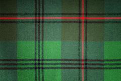 Christmas tartan Stock Photos