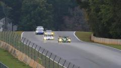 Time Lapse Racing: ALMS - Petit Le Mans 2013 Stock Footage
