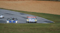 Racing: ALMS - Petit Le Mans 2013 Stock Footage