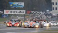 Stock Video Footage of Green Flag! Racing: ALMS - Petit Le Mans 2013