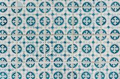Azulejos - portugal tiles close-up Stock Photos