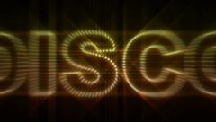 Music styles LEDS 03 Stock Footage