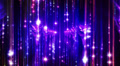 Abstract motion background, shining lights, energy waves and sparkling particles Footage