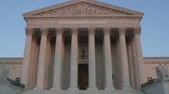 United States Supreme Court Building Stock Footage