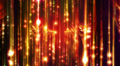 Abstract motion background, shining lights, energy waves and sparkling particles HD Footage