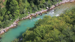 Tara River Canyon Stock Footage
