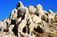 Stock Photo of rocks of cappadocia in central anatolia, turkey