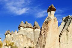 Stock Photo of rocks of cappadocia in central anatolia, turkey