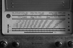 Glorious italian superheterodyne transistor radio under the name of radio sta Stock Photos