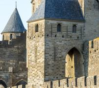 carcassonne (france) - stock photo