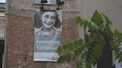 Anne Frank Museum Stock Footage