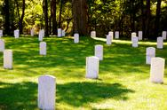 Stock Photo of johnson island confederate cemetery