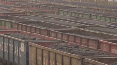 Coal Train - stock footage