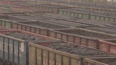Coal Train Stock Footage