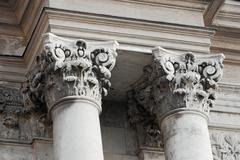 column - stock photo