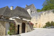 Stock Photo of old village of saint-amand-of-coly