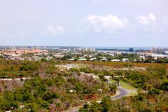 jupiter florida aerial view - stock photo