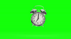 Crazy alarm clock. Stock Footage