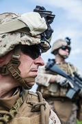 US marines Stock Photos