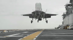 F-35 JSF Joint Strike Fighter Lightning II - stock footage