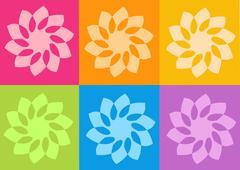 Yantra Symbol - Yoga - stock illustration