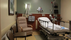 Outpatient room Stock Footage