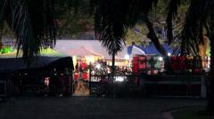 'Monday Night Market' in Phechaburi, Thailand 3/7 Stock Footage
