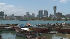 Dar es salaam, tanzania Stock Footage