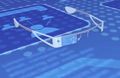 Stock Illustration of smart glasses