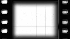Film Reel White Loop Stock Footage